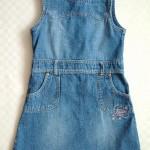 Das war einmal das Jeanskleid in Größe 128.....