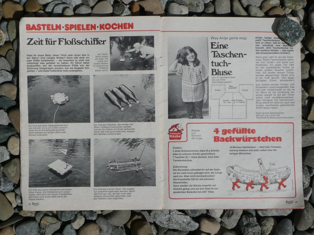 Anleitung für eine Taschentuchbluse