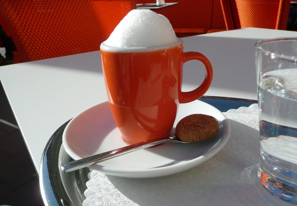 Oranges Cafe in Stralsund